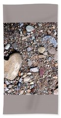 Beach Sheet featuring the photograph Heart Of Stone by Danielle R T Haney