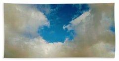 Heavenly Clouds Beach Towel