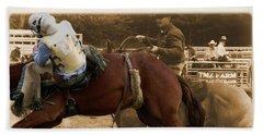 Helluva Rodeo-the Ride 6 Beach Sheet