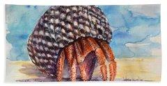 Hermit Crab 4 Beach Sheet