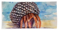 Hermit Crab 4 Beach Towel