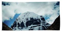 Holy Kailas North Slop Himalayas Tibet Artmif.lv Beach Towel