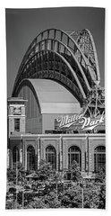 Home Of The Milwaukee Brewers Beach Sheet