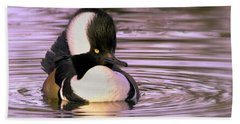 Hooded Merganser Beach Sheet