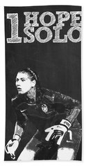 Hope Solo Beach Towel