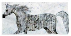 Horse Paint Beach Sheet