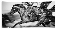 Horse Racing Beach Sheet