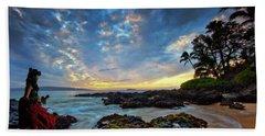 Hula Sunset Beach Towel