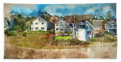Hyannis Light Beach Towel by Jack Torcello