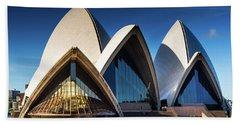 Iconic Sydney Opera House Beach Sheet
