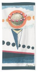 Beach Towel featuring the drawing Idea Ismay by Rod Ismay