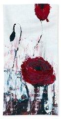 Impressionist Floral B8516 Beach Towel