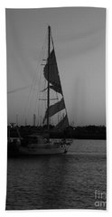 Beach Towel featuring the photograph In Tatters by Marie Neder