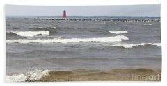 In The Distance Beach Towel by Tara Lynn