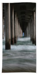 Beach Towel featuring the photograph Infinity by Edgars Erglis