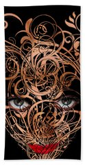 Inner Beauty Beach Towel