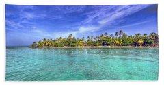 Island In The Sun Beach Sheet