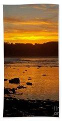 Island Sunset Beach Sheet by Blair Stuart
