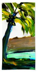 Island Time Beach Towel by Fred Wilson