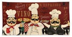 Italian Chefs-jp3048 Beach Towel
