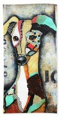 Italian Greyhound Beach Sheet