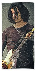 Jack White Beach Towel