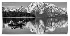 Jackson Lake, Gtnp  Beach Towel