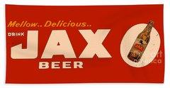 Jax Beer Of New Orleans Beach Towel