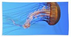 Jellyfish Beach Towel by Joe  Palermo