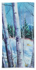 Jemez Mountain Moment Beach Towel