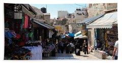 The Old City Of Jerusalem 1 Beach Sheet