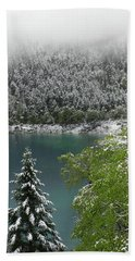 Jiuzhaigou National Park, China Beach Towel