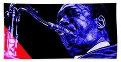 John Coltrane Collection Beach Towel by Marvin Blaine