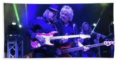 John Lodge At Ferg's Beach Towel
