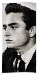 Johnny Cash, Singer Beach Towel
