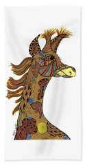 Josi Giraffe Beach Towel