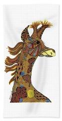 Josi Giraffe Beach Sheet