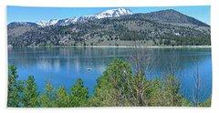 June Lake Panorama Beach Sheet