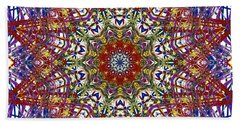 Kaleidoscope 414 Beach Towel