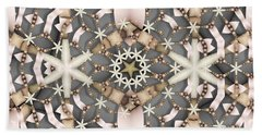 Beach Towel featuring the digital art Kaleidoscope 97 by Ron Bissett