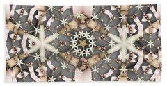 Beach Sheet featuring the digital art Kaleidoscope 97 by Ron Bissett