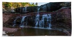 Kansas Waterfall Beach Sheet