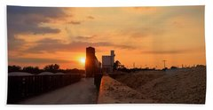 Katy Texas Sunset Beach Towel