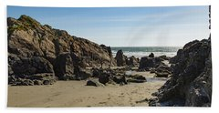 Beach Towel featuring the photograph Kennack Sands by Brian Roscorla
