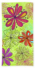 Key Lime Delight Beach Towel
