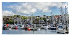 Kinsale Harbor  Beach Towel