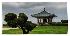 Korean Bell Of Friendship Beach Towel