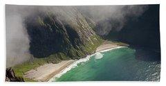 Kvalvika Beach Beach Towel