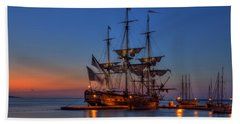 Lafayette's Hermione Voyage 2015 Beach Sheet