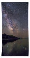 Beach Sheet featuring the photograph Lake Oahe  by Aaron J Groen